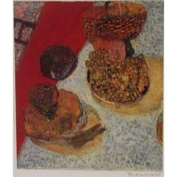 Picnic - Signed Lithograph -  Bonnard