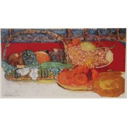 Various Fruits - Lithograph -  Bonnard