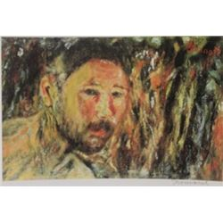 The Man  - Signed Lithograph -  Bonnard
