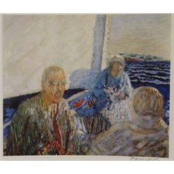 On the Ferri  - Signed Lithograph -  Bonnard