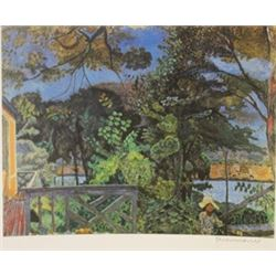Riverside  - Signed Lithograph -  Bonnard