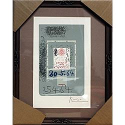 Signed Lithograph - Pablo Picasso