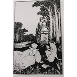 Beardsley - Lithograph