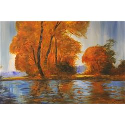 """ GOLDEN POND""  BY MICHAEL SCHOFILED"