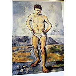 Lithograph  Swimmer