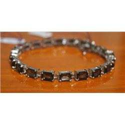 Beautiful Bracelet with Smoky Quartz