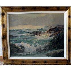 Original Robert Woods Oil on Canvas