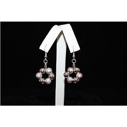 Fine Balls Silver Earrings (26E)