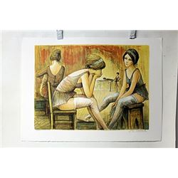 Hand Signed Lithograph Lalande