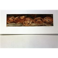 Hand Signed Etching Purcell Purcell