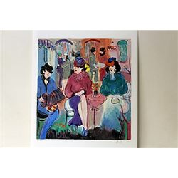 Hand Signed Limited Edition Serigraph Zule