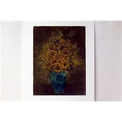 Hand Signed Etching Ward