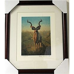 Framed  Peter Darro Limited Edition Lithograph (5E-EK)
