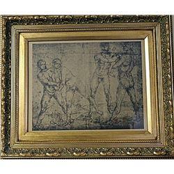 Framed Engraving (18E-EK)