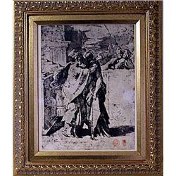 Framed Engraving (40E-EK)