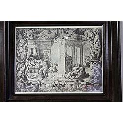 Framed Engraving (54E-EK)