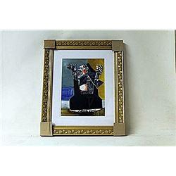 Framed Picasso Lithograph (187E-EK)