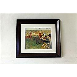 Framed Edgar Degas Lithograph (196E-EK)