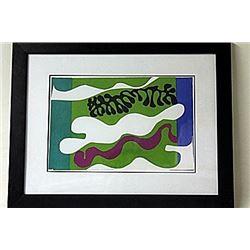 Framed Matisse Lithograph (201E-EK)