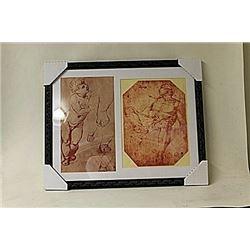 Framed 2-in-1 Raffaelo Engravins (232E-EK)