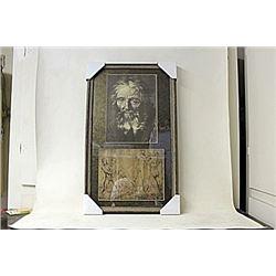 Framed 2-in-1 Engravings (243E-EK)