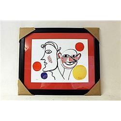Limited Edition By Alexander Calder. (269E-EK)