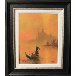 """VENICE AT SUNSET"" By KELLY, John (N)"