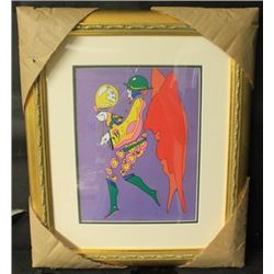 """YELLOW BALLOON"" By PETER MAX (N)"