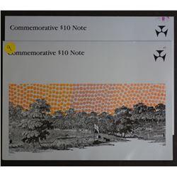 1988 $10 Bi Centenary in folder of issue (3)