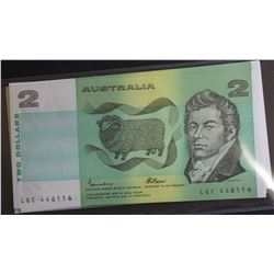 $2 Notes Run of 20 CFU