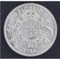 1942S Florin Gem Unc