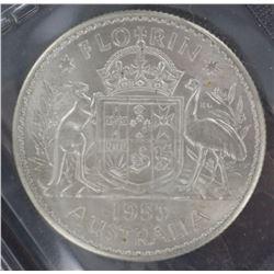 1953 Florin ACGS Graded MS 63