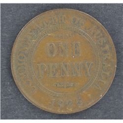 1925 Penny Nearly VF