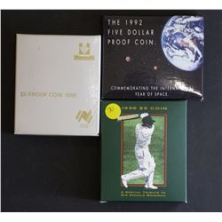 $5 proofs Bradman , Space, Parliament
