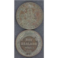 Aust & NZ Penny Tokens