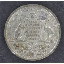 Victoria white Medalet