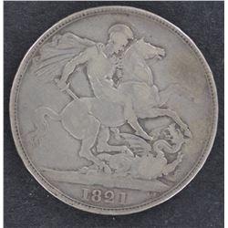 Crowns 1821 Good Fine