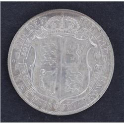 GB 1927 ½ Crown Unc