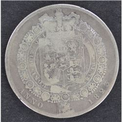 GB ½ Crowns 1823,1827,1829