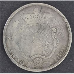 GB ½ Crowns 1816,17,18,19,20