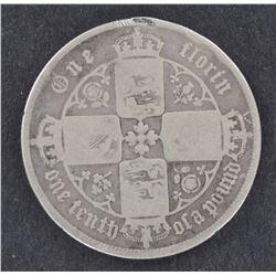 GB Florins 1852, 1884 , 1876