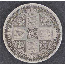 GB 1849 Godless Florin F/VF