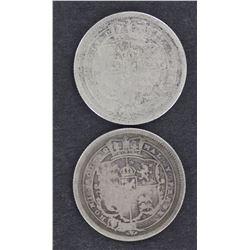 GB Shillings 1816,1817,1818,1819,1820
