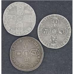 GB Sixpences 1697 (2), 1758