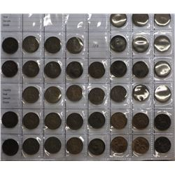 GB Farthings 1860 to 1956 Complete