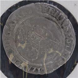 Elizabeth I Sixpence 1567, Nice portrait