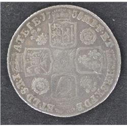 George II 1735 Shilling VG/Fine