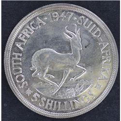 South Africa Crown 1947 Proof