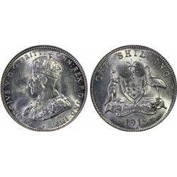 1918 Shilling MS 63