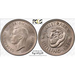 1939 Shilling MS 65
